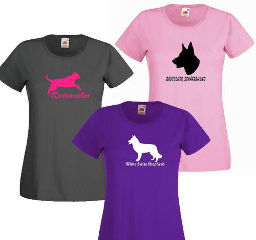 Naisten Valueweight T-paita rotuprofiilikuvalla eb45a4fe97