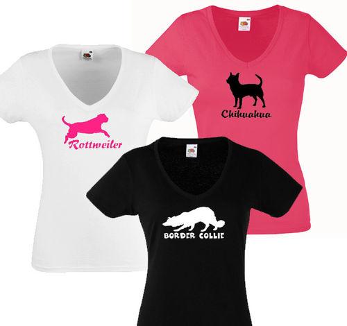 Naisten Valueweight V T-paita rotuprofiilikuvalla b8464fa8b5