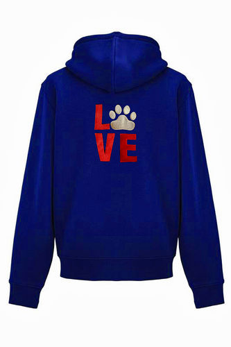 "Authentic vetoketjuhuppari ""LOVE Paw"""