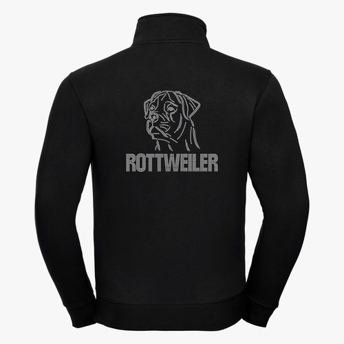 "Authentic collegetakki ""Bling Bling"" Rottweiler pää-ER"