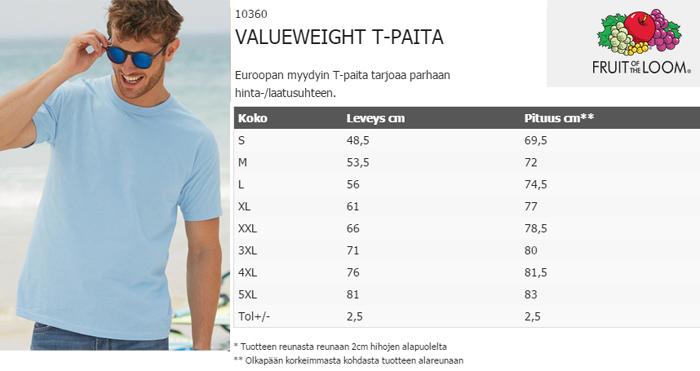 Valueweight T-paita RRR - ILOWILLA TMI 2b00b4e583